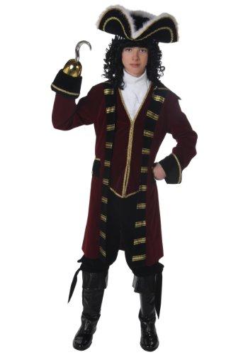 Teen Deluxe Captain Hook Costume (Teen)