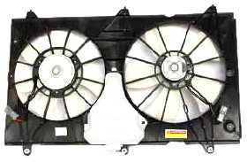 TYC 620690 Honda Accord Replacement Radiator/Condenser Cooling Fan Assembly by TYC