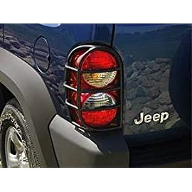 NEW 2003-2007 Jeep Liberty Tail Lamp Guards Covers OEM MOPAR