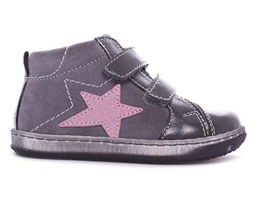 Balocchi Mini bambina, pelle scamosciata, sneaker bassa, 21 EU