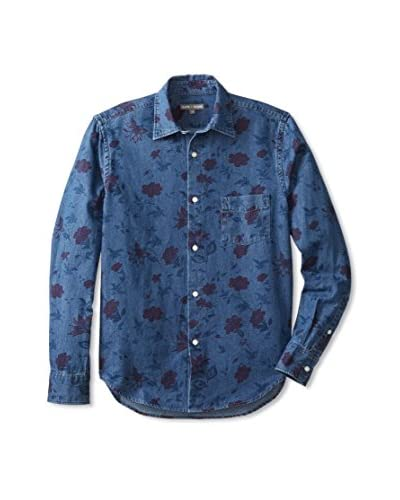 Slate & Stone Men's Russell Printed Long Sleeve Shirt