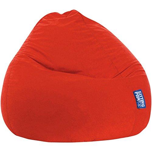 MAGMA Sitzsack Easy tomate (Größe: XXL, 300 l)