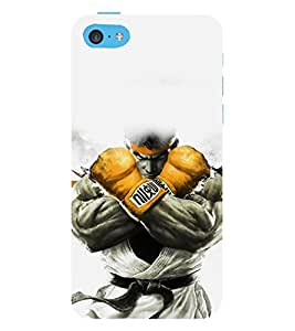 printtech Game Fighter KO Back Case Cover for Apple iPhone 5S