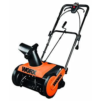 The WORX 18 inch snow thrower will help you get through winter with ease.  Powered by a high performance 13 amp electric mower capable of slicing a path 18 inches wide by 9 inches deep and throwing snow up to 30 feet, clearing snow from your walkway ...