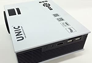 UNIC Home Cinema UC40 800 lumens Projector and the KibbiX Casting allows total display of your smart phone screen through this wireless WIFI HDMI dongle bundle. This combination will project photos, video, movies, emails, apps, video games all to a big screen. It will even project a video call on apps like Skype