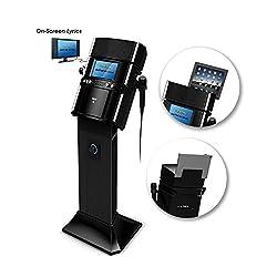Akai KS808 CD+G Karaoke System with Speaker Pedestal