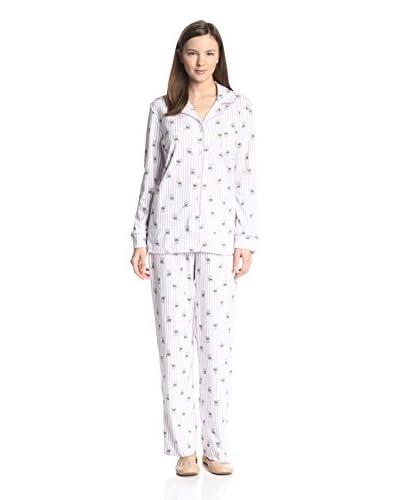 Carole Hochman Women's Scottie Dog Pajama Set