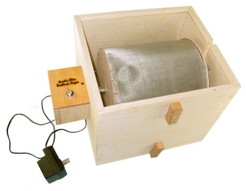 Automatic Pollen Extractor Dry Sift Tumble Machine Electric Kief Wood Easy Now Fast