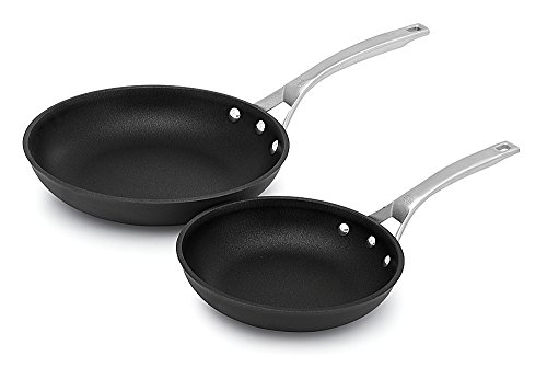 Calphalon Signature Hard Anodized Nonstick Omelet Fry Pan Set, 8