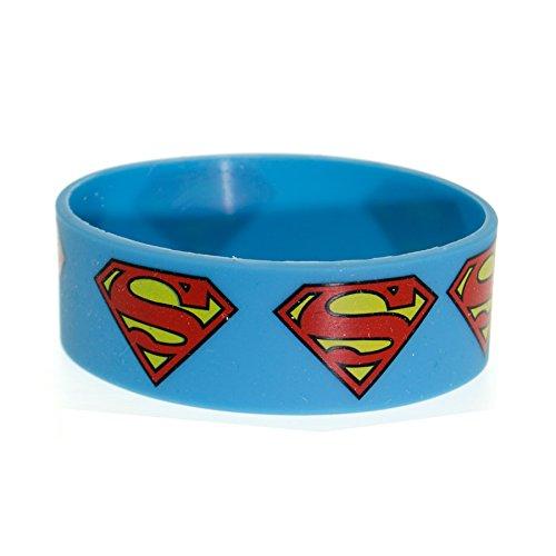 Bracciale DC Comics Superman (Blu)