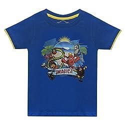 Boys round neck Imagica Character Printed Tshirt