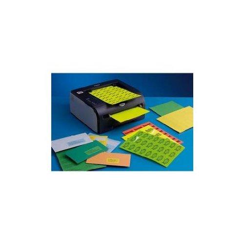 Techmay Logetiq 3393 Boite de 400 étiquettes signalétiques 105 X 148,5 mm Bleu