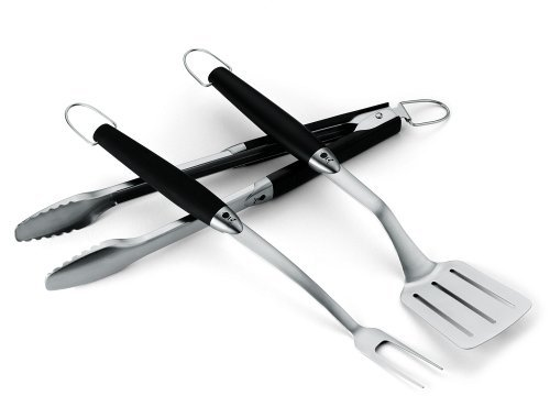 Weber 6630 Original 3-Piece Stainless Steel Tool Set