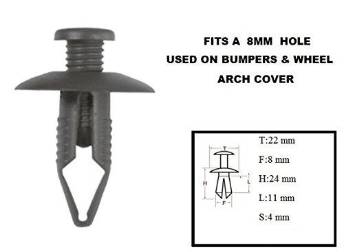 xtremeautor-10-x-scrivet-rivet-8mm-dark-grey-clips-rivets-fixtures-for-car-bumper-moulding-side-pane
