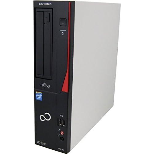 富士通 FMV ESPRIMO デスクトップ PC DHシリーズ 【OFFICE無し】 8GB 500GB Corei3-3240 Win7HP FMVWLD1S7