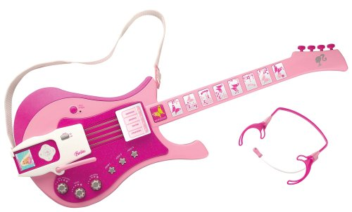 "Barbie ""Jam With Me"" Electronic Guitar"