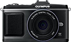 Olympus E-P2 Digital Camera with 14-42mm Lens (Black)