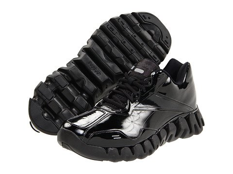 194a8fb5a25a Reebok Men s Zigenergy Referee Shoes Black Black Patent Leather 11 5 ...