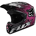 Fox Racing Women's V1 Vortex Helmet XLarge/Black/Pink