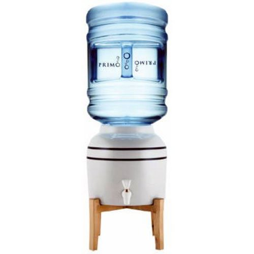PRIMO-PRODUCTS-900114-Pioneer-Brand-Ceramic-Water-Dispenser-with-Stand-Holds-Bottles-3-5-gallon
