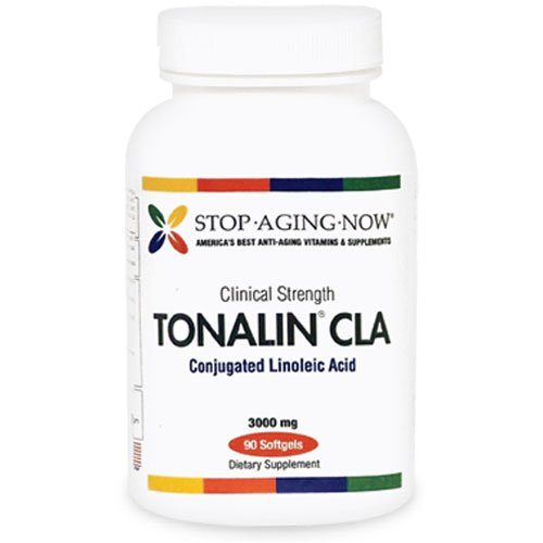 TONALIN CLA® 3000mg, 90 Softgels. Made USA.