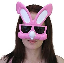 Funcart Pink Bunny Ear Sunglasses