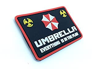 Umbrella Everything Is In The Plan Resident Evil PVC Airsoft Paintball Velcro Patch