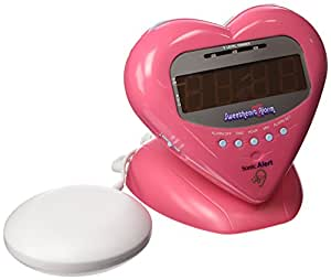 Sonic Alert SBH400ss Sweetheart Alarm Clock with Bed Shaker