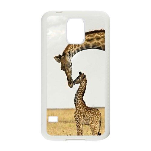 Nymeria 19 Customized Giraffe Diy Design For Samsung Galaxy S5 Hard Back Cover Case De-20
