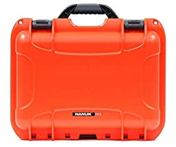 Nanuk 915 Waterproof/Crushproof Case - Lock - Orange