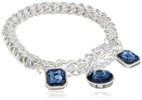 "Kenneth Cole New York ""Holiday Boxed"" Geometric Bead Half Stretch Bracelet in Gift Box, 7.5"""