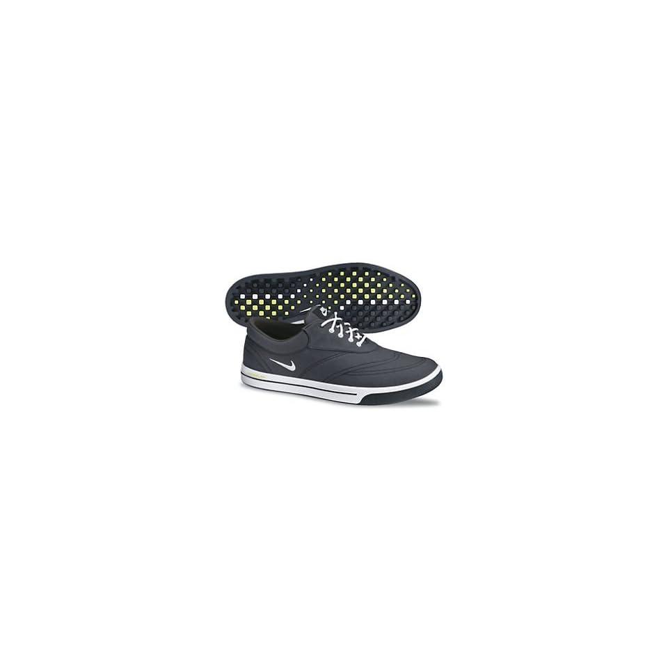 check out 536ba 7ad70 Nike Mens Lunar Swingtip Canvas Golf Shoes Wide