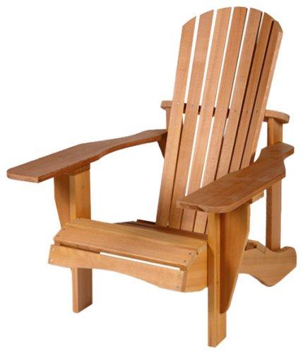 western cedar standard adirondack chair by cedar