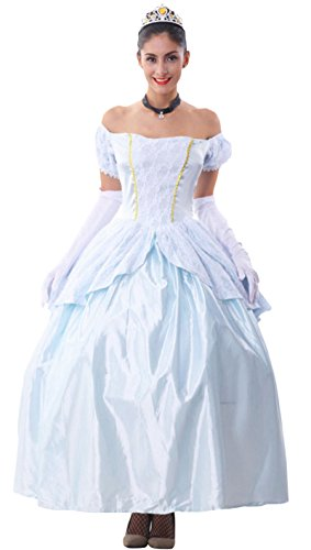 JustinCostume Women's Sexy Princess Dress Costume Party Queen Cosplay Outfits