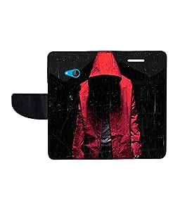 KolorEdge Printed Flip Cover For Microsoft Lumia 540 Multicolor - (50KeMlogo10206Lumia540)
