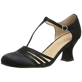 Vintage T Strap Heels