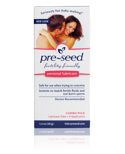Pre-Seed Personal Lubricant, 40 Gram Tube with 9 Applicators