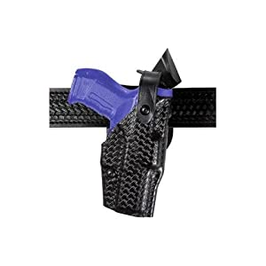 Safariland 6360 Level 3 Retention ALS Duty Holster, Mid-Ride, Black, STX Basketweave, Sig P228