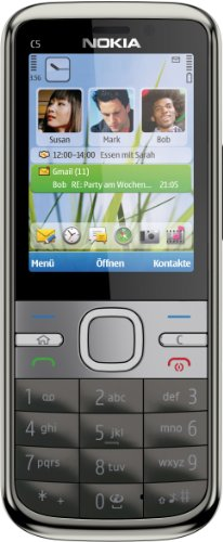 Nokia C5-00 warm grey (5 MP) SIM free mobile phone
