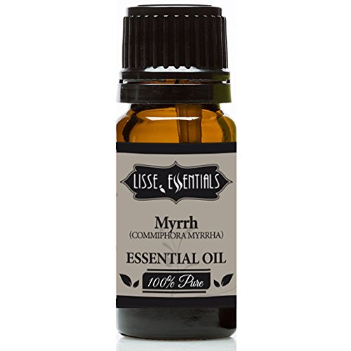 Myrrh (Commiphora Myrrha) Resnoid Oil 100% Pure Therapeutic Grade, 10 ml