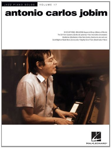 Antonio Carlos Jobim - Jazz Piano Solos Series Volume 17