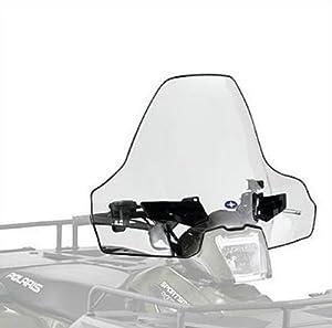 "Polaris Lock & Ride ATV Sportsman 400/500/800, 6x6, X2 500/800, Touring Tall 19.25"" (48.9cm) Windshield - pt# 2878389"