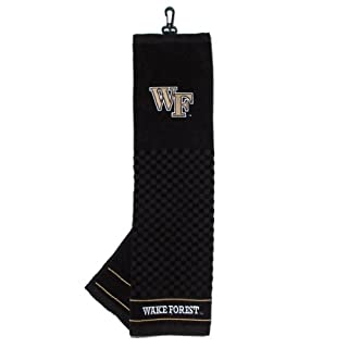 NCAA Wake Forest Demon Deacons Embroidered Team Golf Towel