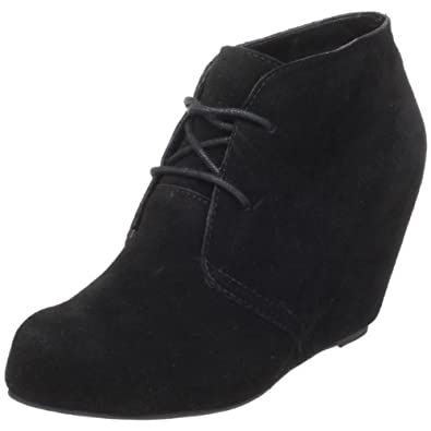 DV By Dolce Vita Women's Pascal Ankle Boot,Black Suede,7 M US