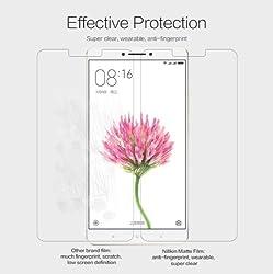 Nillkin Screen Guard for Xiaomi Mi Max Whole Set Version Matte Anti Glare Front + Clear Back