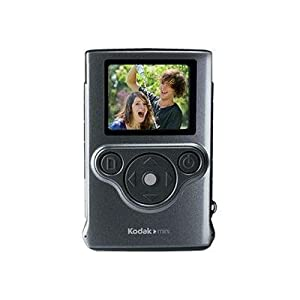 Kodak ZM1-NM 1 MP 1-Inch LCD CMOS Sensor Digital Camera with 3 x Optical Zoom (Silver)