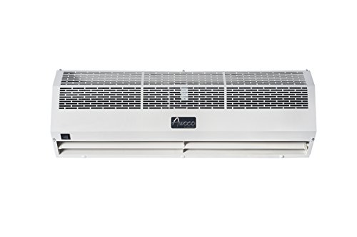 Awoco 1200 CFM Commercial Indoor Air Curtain with Heavy Duty Door Switch, 36-Inch