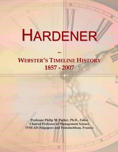 hardener-websters-timeline-history-1857-2007