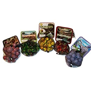 FS-USA/Mega Marbles Party Set of Marbles Dinosaur