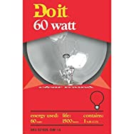 Do it Decorative Globe Light Bulb-60W CLR 3-1/8GLOBE BULB
